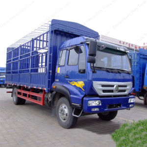 New Yellow River 4X2 160HP 8 Tons Stake Cargo Truck for Sale pictures & photos