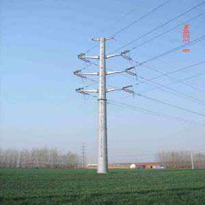 110kv Monopole, Transmission Tower for Pakistan Project pictures & photos