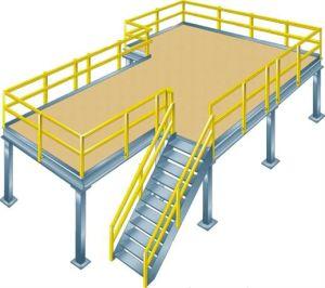 Industrial Prefabricated Steel Structural Mezzanine Flooring pictures & photos