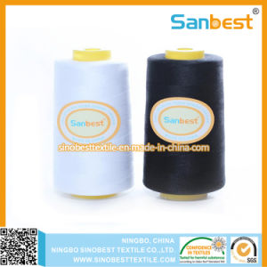 30s/2 100% High Quality Spun Polyester Sewing Thread pictures & photos