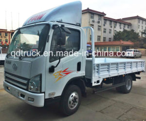 China Popualr FAW 5 Ton Cargo Truck with Turbo Charger pictures & photos