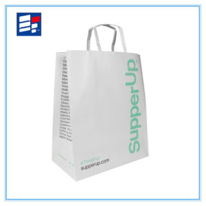 High Quality Paper Handle Bag with Printing Custom Artwork pictures & photos