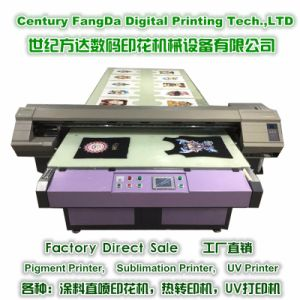 Fd1618 Flatbed Digital Printer for T-Shirt Pieces Printing pictures & photos
