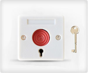 Inner-Wall Installation Panic Button for Home Usage pictures & photos