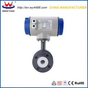 Designed for Measuring Waste Water Flow Rate Electromagnetic Flow Meter pictures & photos