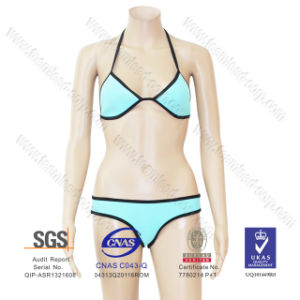 2016 Wholesale Fashion OEM Stock Women Girl Sexy Bathing Suit Beach Bikini Neoprene Swimming Wear pictures & photos