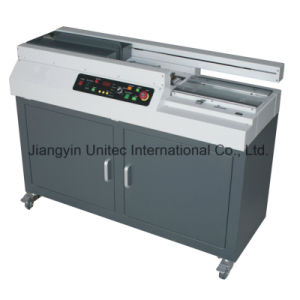 Hot Sale Automatic Soft and Hard Covers Book Binding Machine W8500 pictures & photos