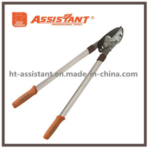 Drop Forged PTFE Coated Blade Bypass Loppers with Aluminum Handles pictures & photos