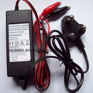 12V 2A AGM Battery Charger with India Plug pictures & photos