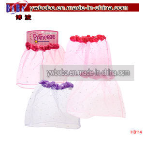 Princess Dress-up Skirts Halloween Birthday Party Costumes (H8114) pictures & photos