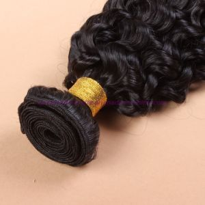 8A Grade Mongolian Virgin Hair Water Wave with Bundles Wavy Human Hair Extensions Curly Weave Human Hair Weave pictures & photos
