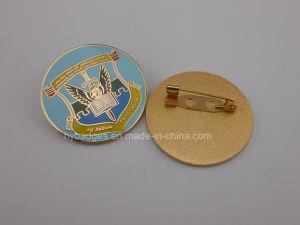 Uganda Military Soft Enamel Golden Badge (GZHY-KA-088) pictures & photos