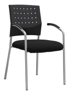 PP Back Visitor Chair Modern Metal Frame Conference Room Chair (LDG-820B) pictures & photos