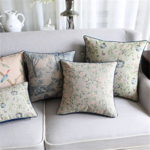 Cotton Linen Printed Outdoor Pillows and Cushions for Outdoors pictures & photos
