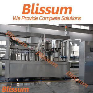 Full Automatic Plastic Bottle Liquid Filling Machine pictures & photos