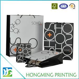Cheap Custom Printed Matte Branded Paper Bag pictures & photos