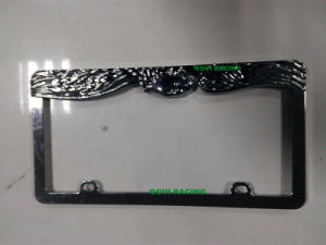 Personalized License Plates Frames with 312X160mm Chromed Universal for Car Americal Standard pictures & photos