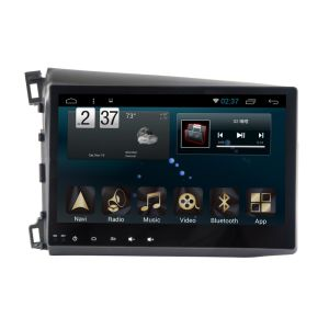 New Ui Android System Car Navigation for Civic 2012 with Car Player