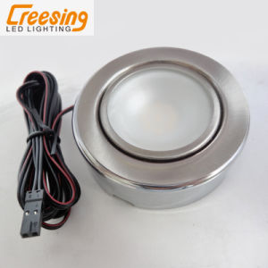 Round Steel LED Cabinet Light for All Furniture pictures & photos