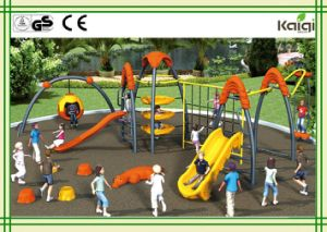 Outdoor Climbing Playground for Children of Kaiqi Children Climbing Systems for Forest Children pictures & photos