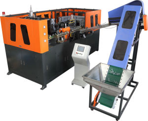 4 Cavity Fully Automatic Plastic Stretch Blow Moulding Machine pictures & photos