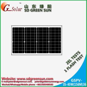 35W-40W Mono Solar Panel, Solar Light Module pictures & photos