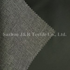Two Tone Polyester Cationic Oxford Fabric with TPE Lamination pictures & photos