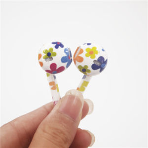 Universal Painting Earphones Earbuds Headphone Volume Control 3.5mm iPhone 6 iPhone5 (XSEJ-021) pictures & photos