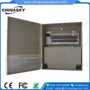 12VDC 10AMP 18CH Metal Cabinet CCTV Power Distribution Box (12VDC10A18PN) pictures & photos