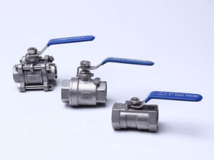 2PC Threaded Ball Valve for Stainless steel pictures & photos