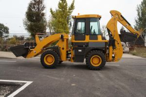 China Best Quality Wy30-25 Backhoe Loader with Cummins Engine pictures & photos