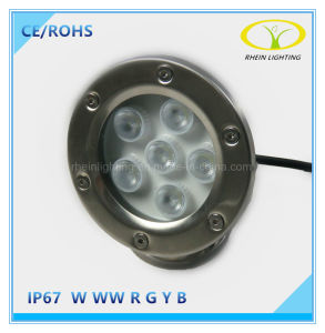 Hot Sales IP67 6W LED Underwater Fountain Light pictures & photos