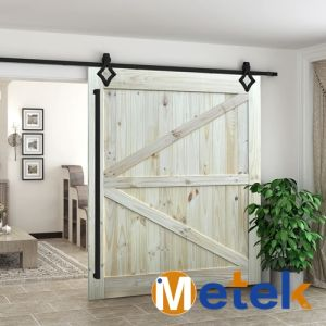 Modern Interior Barn Sliding Solid Wood Door High Quality pictures & photos