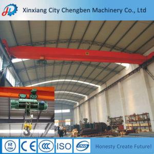 Single Girder Overhead Workshop Use Electric Hoist Bridge Crane pictures & photos