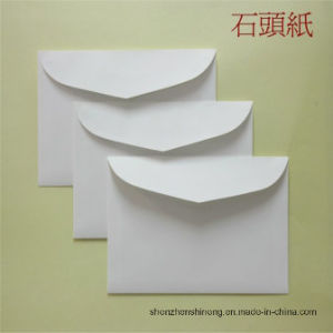 Water-Proof Paper Box ---- Stone Paper Rich (RBD-300um) Mineral Paper Double Coated pictures & photos
