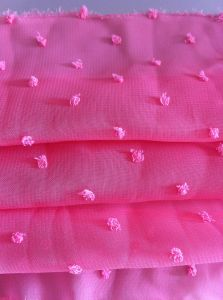 100% Polyester Clipping Chiffon Fabric for Dress pictures & photos