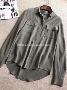 Silk Sandwashed Shirts pictures & photos