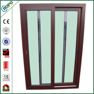 PVC Horizontal Glass Sliding Window pictures & photos
