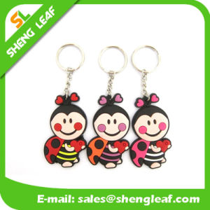Promotional Gifts Cute Animal Rubber Notebook Key Chain pictures & photos