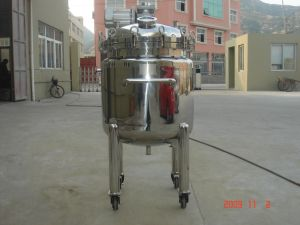 Stainless Steel Food Pressure Mixing Tanks for Water Storage and Food Beverage pictures & photos