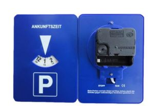 Parking Disc with Clock pictures & photos
