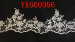 Ivory Polyester Guipure Lace Fabric for Lady Fashion Garments pictures & photos