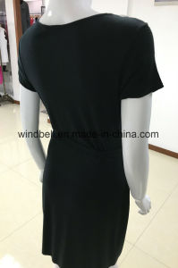 Leisure Elegant Dress for Women with Acrylic Drill pictures & photos