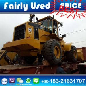 Used Cat 966f Shovel Loader with Log Fork for Sale pictures & photos