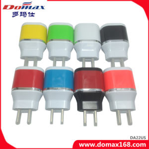 Mobile Phone Wall Plug 2 USB Adapter Travel Charger for Samsung pictures & photos