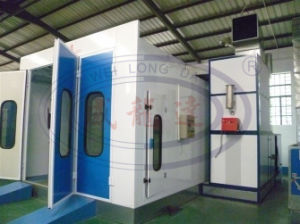 Wld8100 Standard Car Auto Spray Booth with CE pictures & photos