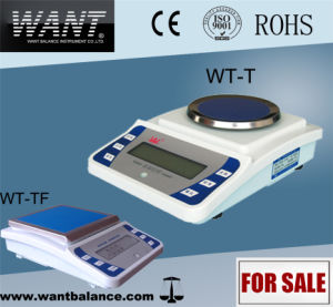 500g 0.01g Industry Textile Scale with RS232 pictures & photos
