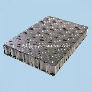 Anti-Slip FRP Panel for Floor, Deck, Scaffolding, Anti Slip FRP PP Honeycomb Core, Floor Panel pictures & photos