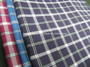 Cotton Yarn Dyed Poplin Checks for Shirt Fabric pictures & photos