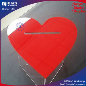 Yageli Red Heart-Shaped Ballot Boxes for Election pictures & photos
